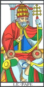 Il Papa - Tarocchi di Marsiglia Camoin-Jodorowsky
