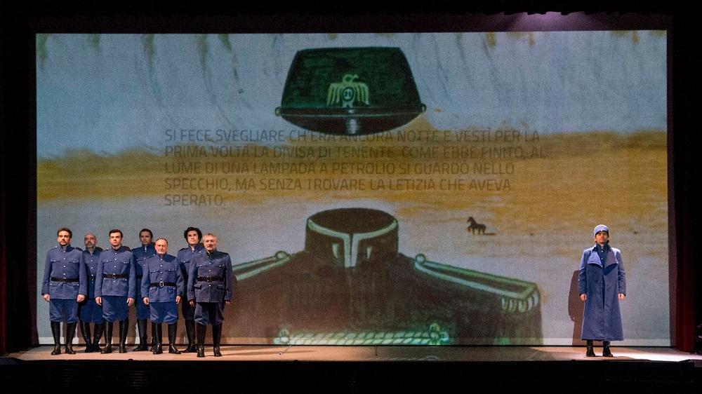 """""""Il deserto dei Tartari"""" diretto da Paolo Valerio: Dino Buzzati al Teatro Niccolini, dal 25 al 29 gennaio 2017, Firenze"""