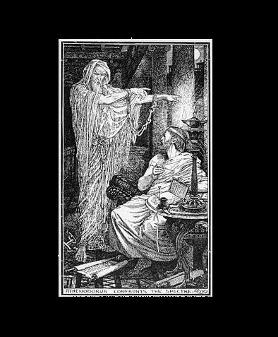 Il fantasma ed il filosofo Atenodoro: il caso di presunta infestazione più noto di tutta l'antichità