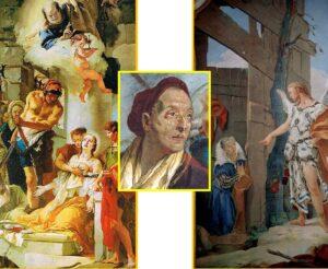 Il martirio di sant'Agata - Giambattista Tiepolo - Apparizione dell'angelo a Sara