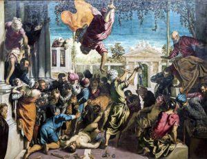 Il miracolo dello schiavo - Tintoretto - 1548