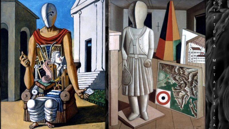 Pittura metafisica: analogie e divergenze tra Giorgio de Chirico e Carlo Carrà