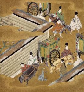 Il principe profumato - illustrazione di Tosa Mitsuoki (1617–1691)