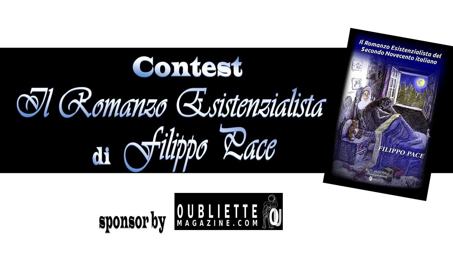 """Contest Letterario di poesia e prosa """"Il Romanzo Esistenzialista"""""""