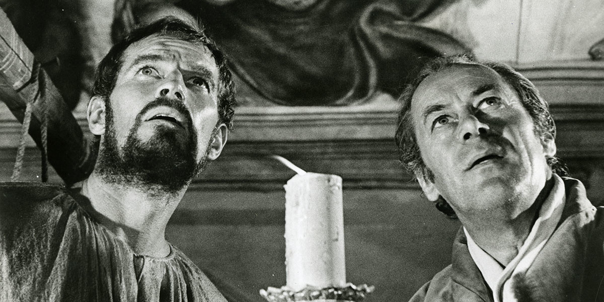 """""""Il tormento e l'estasi"""" di Carol Reed: film che celebra l'arte pittorica del grande Michelangelo Buonarroti"""