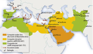 Impero Islam - mappa