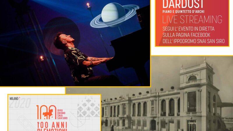 L'Ippodromo Snai San Siro festeggia 100 anni: il concerto di Dardust e la mostra 100 anni di emozioni