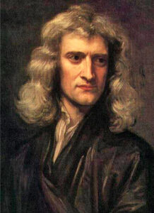 Isaac Newton, Painting by Sir Godfrey Kneller 1689