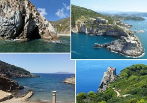 Isola del Giglio - Isola d'Elba - Giannutri Cala Maestra - Isola di Gorgona