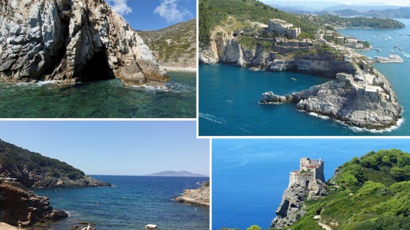 Carta di Navigare di Gerolamo Azurri #22: la costa della Toscana e le isole dell'Arcipelago Toscano, nel portolano della metà del 1500