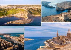 Isola di Gozo - Comino - Isola di Malta La Valletta