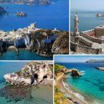 Carta di Navigare di Gerolamo Azurri #21: la costa del Lazio e le Isole Pontine, nel portolano della metà del 1500