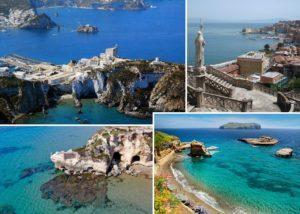Isola di Ponza - Gaeta - Anzio - Isola di Ventotene