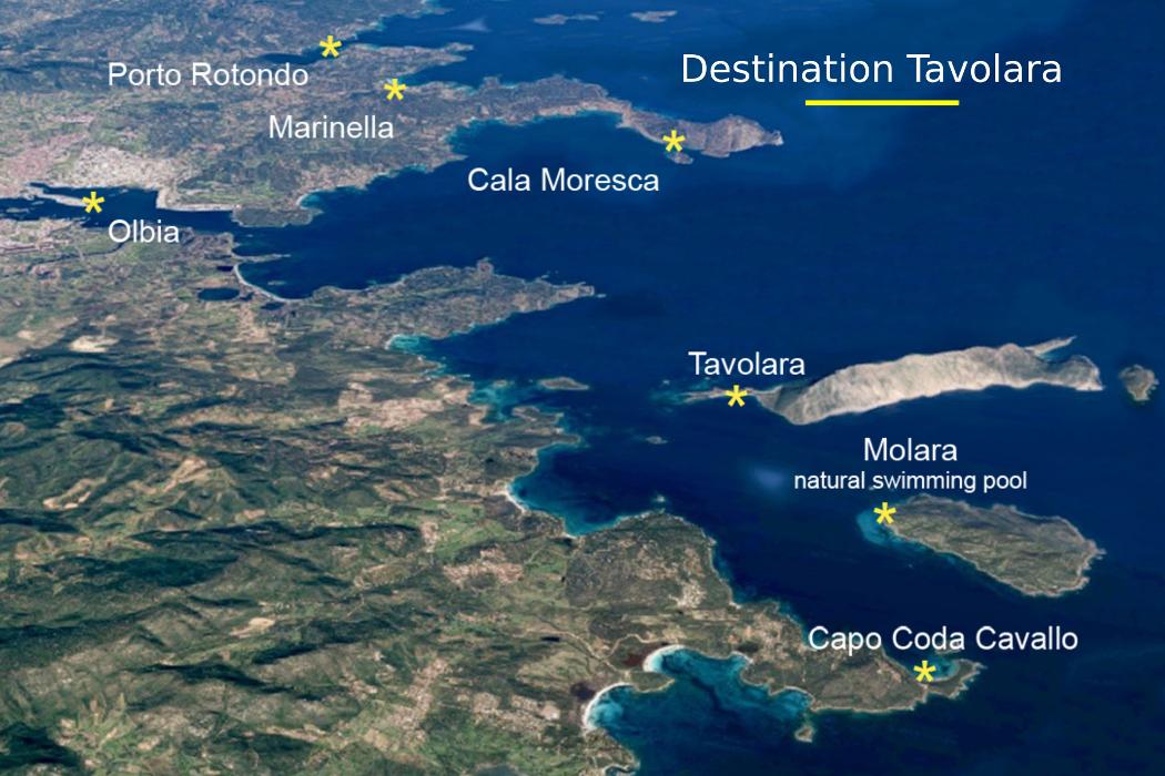 Isole Sardegna Cartina.Carta Di Navigare Di Gerolamo Azurri 7 Le Isole Di Tavolara E Molara Nel Portolano Della Meta Del 1500 Oubliette Magazine
