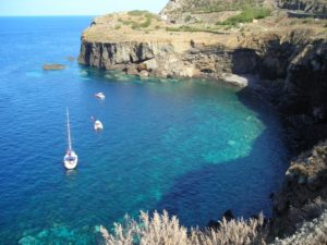 Isola di Ustica - Punta Spalmatore