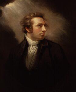 Johann Heinrich Füssli - Painting by James Northcote - 1778