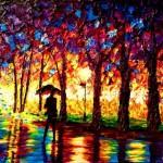 John Bramblitt: ecco come dipinge un pittore non vedente