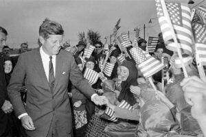 John Fitzgerald Kennedy- Ireland, June 29, 1963. (AP Photo)
