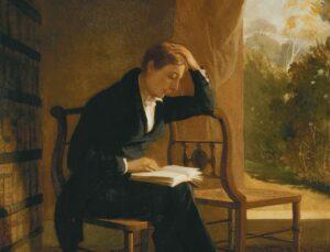 John Keats - Painting by Joseph Severn, 1821 - 1823
