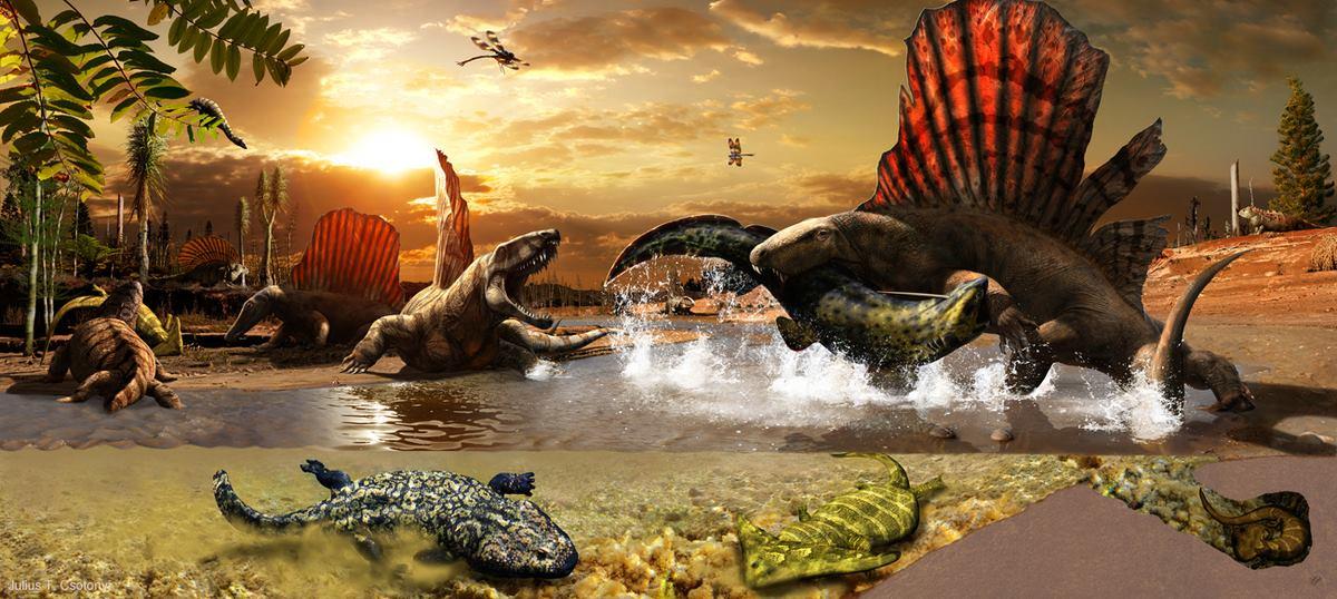 La paleoarte del canadese Julius Csotonyi: la nuova vita dei dinosauri