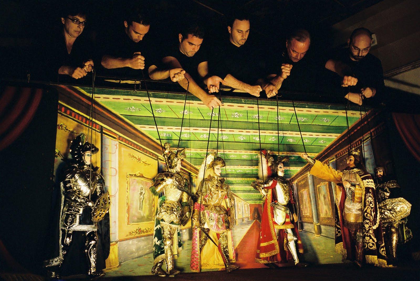 L'opera dei pupi: le marionette siciliane importate dalla Spagna nell'800