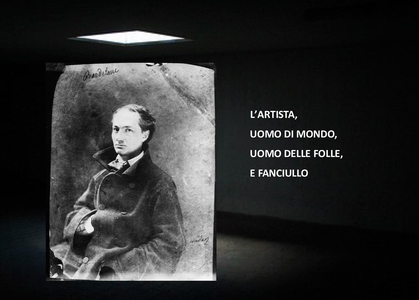 """""""L'Arte romantica"""" di Charles Baudelaire: l'artista, uomo di mondo, uomo delle folle e fanciullo"""