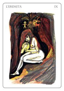 L'Eremita – Tarocchi di Valeria Bianchi Mian