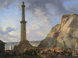 La Lanterna di Genova - Giovanni Migliara - 1833