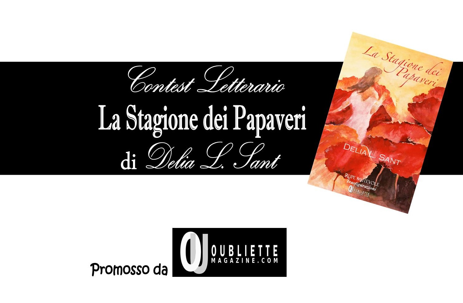 """Contest letterario gratuito di prosa e poesia """"La Stagione dei Papaveri"""""""
