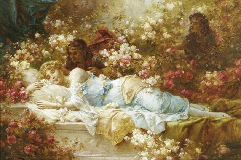 """""""La bella addormentata nel bosco"""": l'antica Rosaspina e la comunione tra universo e psiche"""