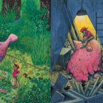 """""""La pietra blu"""": le illustrazioni di Jimmy Liao, un albo poetico e metafora della vita"""