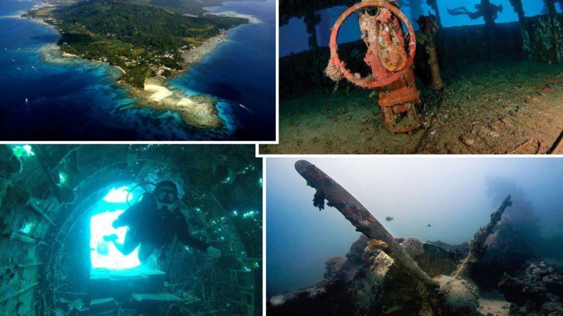 Le navi fantasma della Laguna di Truk: da scenario di guerra a paradiso delle immersioni