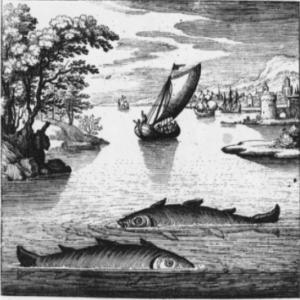 Lambsprinck - La Pietra filosofale - Emblema I