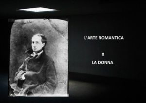 L'arte Romantica X - in foto Charles Baudelaire - Nadar, 1855