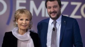Lilli Gruber - Matteo Salvini
