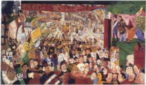 L'ingresso di Cristo a Bruxelles - James Ensor