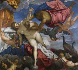 L'origine della Via Lattea - Tintoretto - 1575