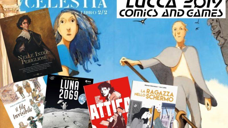 Lucca Comics and Games 2019: le novità editoriali della 53esima edizione