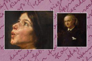 Madame Aupick - Painting by Nikolaos Gyzis - Charles Baudelaire