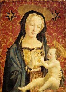 Madonna Berenson - Painting by Domenico Veneziano