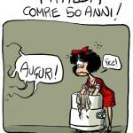 Compie 50 anni il celebre fumetto Mafalda, nato dalla matita di Joaquín Lavado