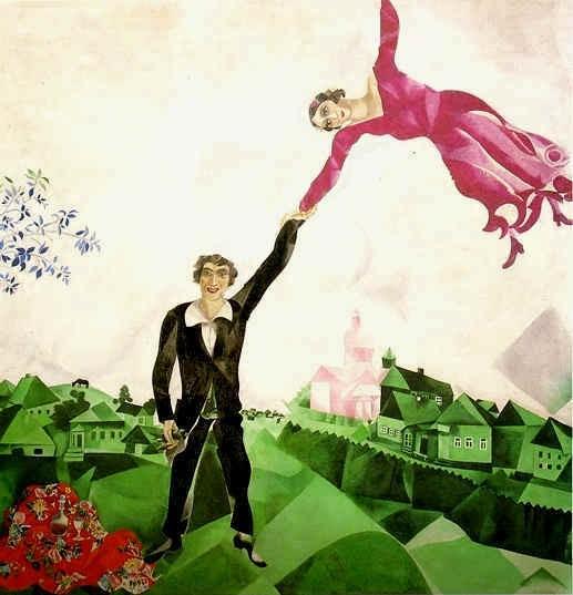 """""""Marc Chagall. Anni russi 1907-1924. Con un racconto per immagini di Dario Fo"""", sino al 15 febbraio, Brescia"""