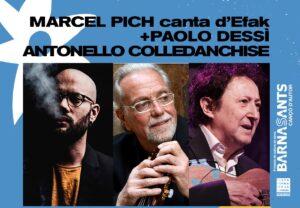 Marcel Pich - Paolo Dessì - Antonello Colledanchise - Barnasants a l'Alguer