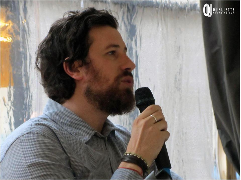 """Lo scrittore Marco Missiroli alla Fiera dei Librai 2015 di Bergamo con """"Atti osceni in luogo privato"""""""