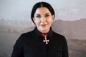 Marina Abramović - Photo by Manfred Werner