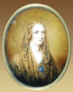 Mary Shelley - Painting by Reginald Easton (1857)