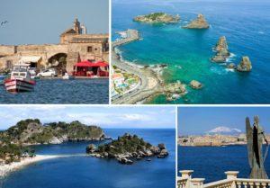 Marzamemi - Aci Trezza - Taormina - Siracusa