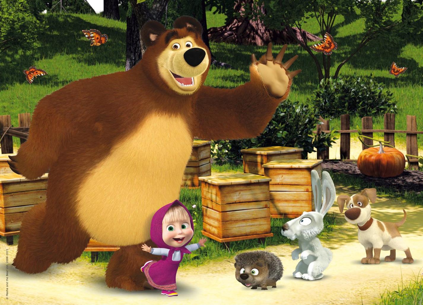 Masha e orso su infinity i nuovi episodi della serie for Masha e orso disegni da colorare