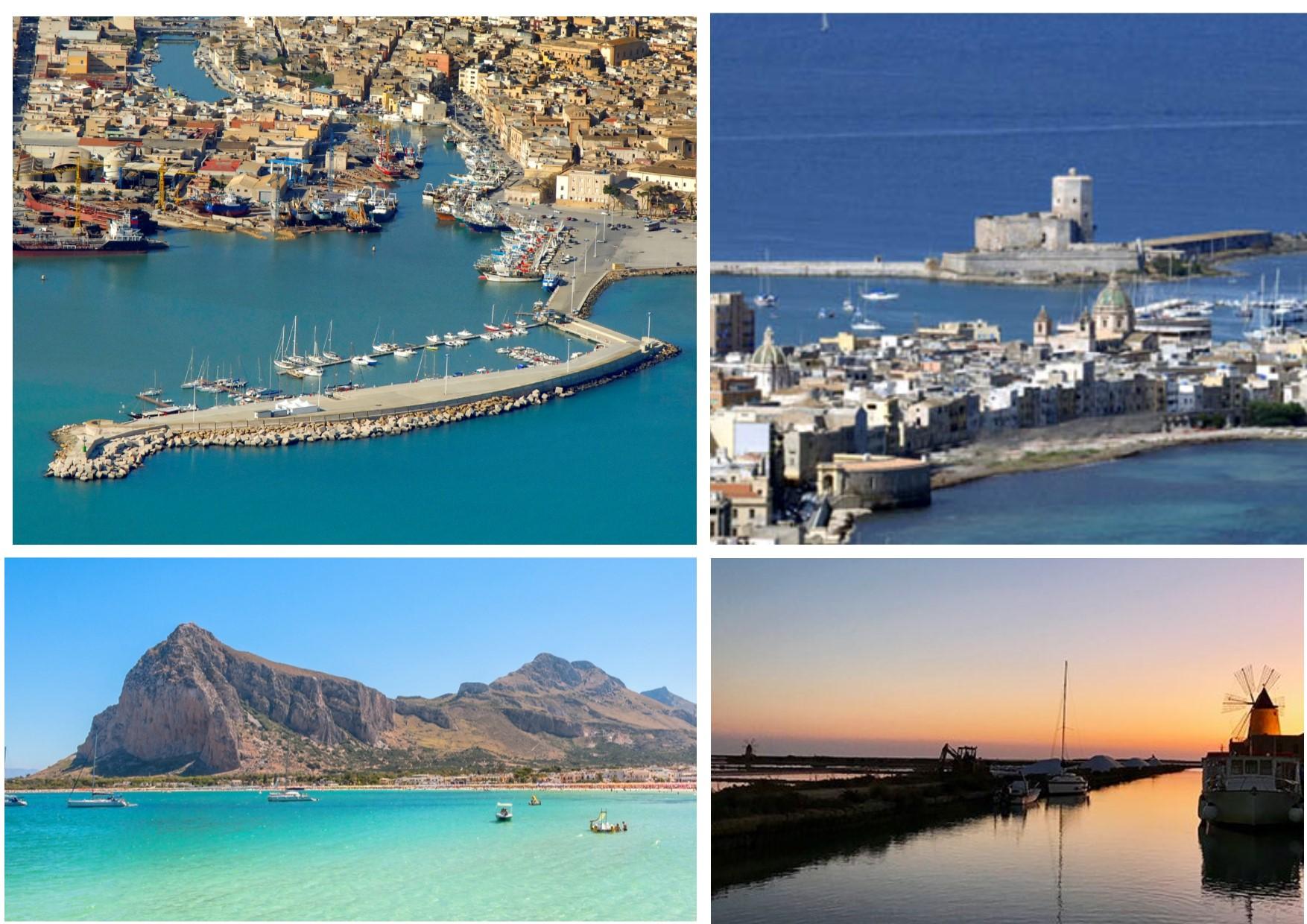 Carta di Navigare di Gerolamo Azurri #12: la costa occidentale della Sicilia, nel portolano della metà del 1500