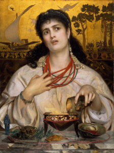 Medea - Painting by Anthony Frederick Augustus Sandys - 1866-1868